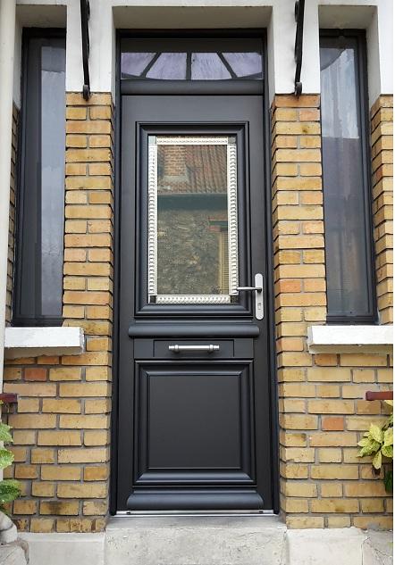 porte d entre finest akimel porte duentre aluminium classique mi vitre with porte d entre. Black Bedroom Furniture Sets. Home Design Ideas