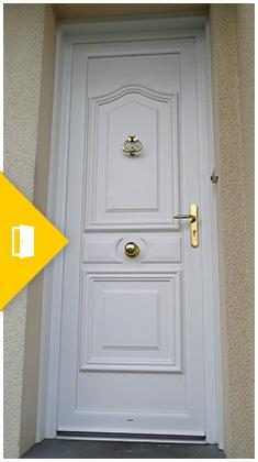 Portes d'entrée et Portes intérieures